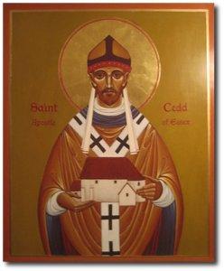 St. Cedd, Bishop