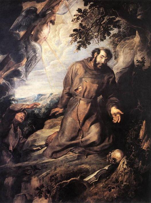 Rubens, St. Francis Receiving the Stigmata
