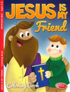 Jesus Coloring book kids