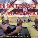 HIGH INTENSITY AB WORKOUT