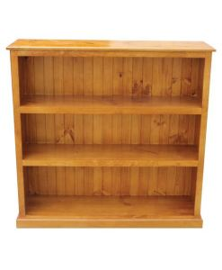 4x4 Deluxe Bookcase Stained