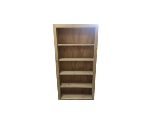 1200 DVD Bookcase Raw