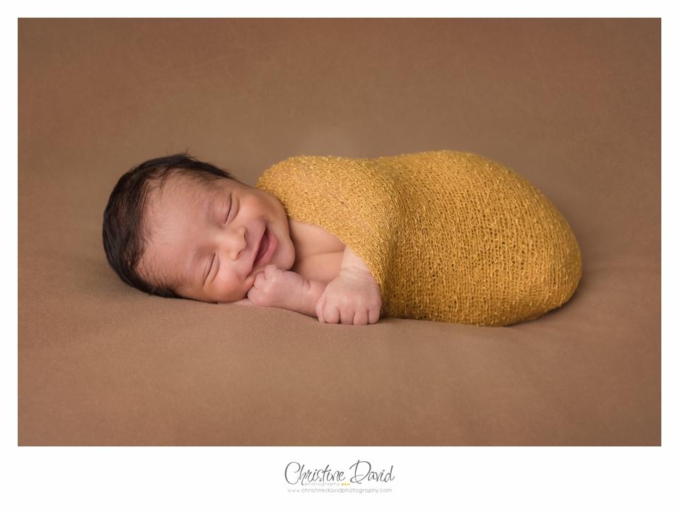 Gavin as a Newborn