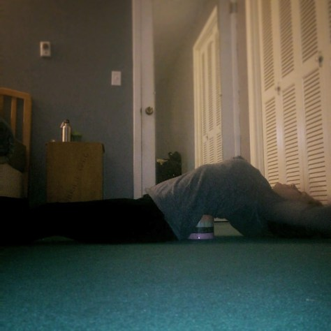 Yoga Block Stretch
