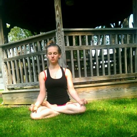 Day 7: Padmasana, Lotus Pose