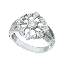 Charming Open Pattern Diamond Cluster Ring Alternative Engagement Rings Chrisher Duquet Fine Jewelry Alternative Engagement Rings Stones Alternative Engagement Rings South Africa wedding rings Alternative Engagement Rings