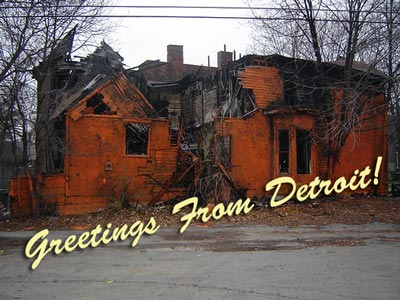 A mansion in Detroit would be condemned in any non-third world country.