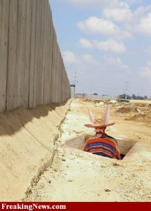 A secret Mexican tunneling into America.