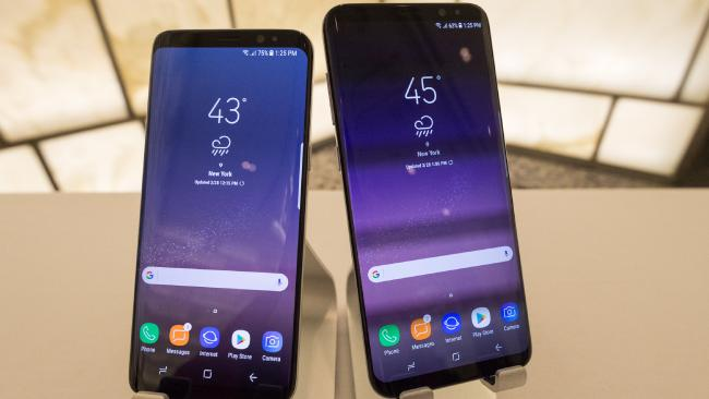 The new Samsung Galaxy S8 and S8+