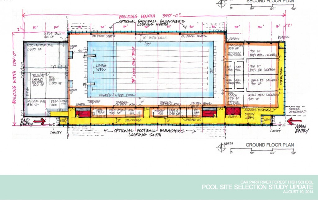 a plan for 375 million olympicsized swimming pool at oak park and river forest