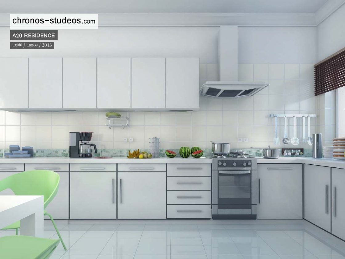 chronos studeos contemporary kitchen interior rendering (1)