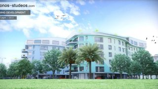 Chronos Studeos Ikoyi Residential Development 3D Visualization Exterior 1