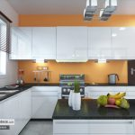 Kitchen 3D visualization by Chronos Studeos 7