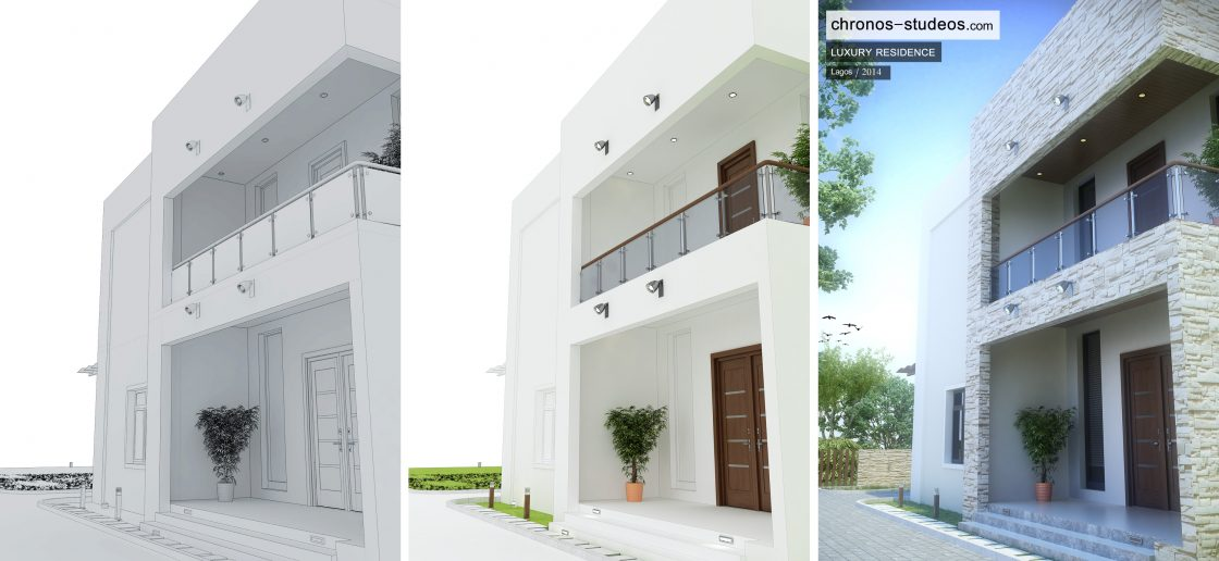 chronos studeos rendering private residence
