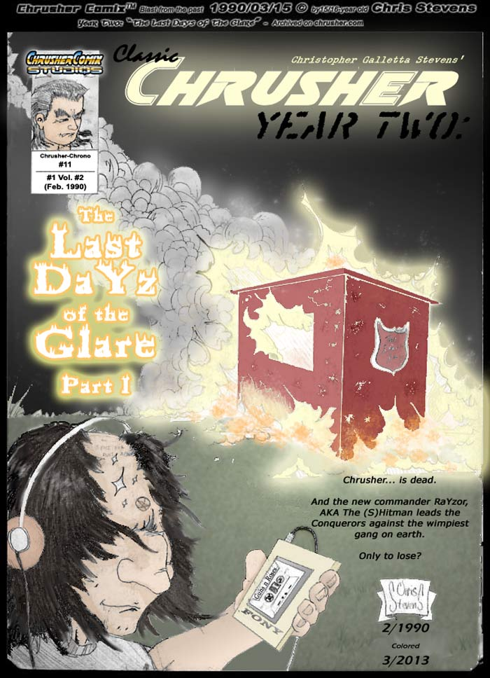 #11 - The Last DaYz of the Glare #1 (Year Two)