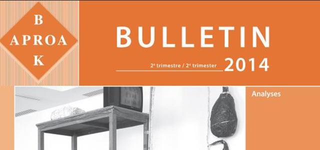 Belgian Association of conservators Bulletin
