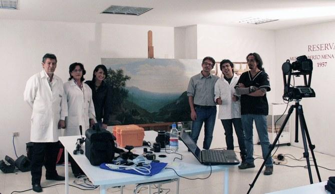 training multispectral imaging ecuador