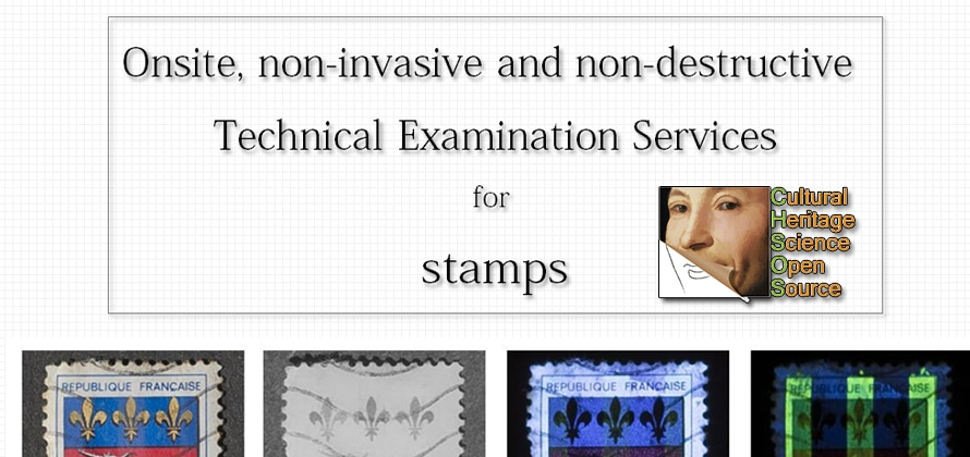 Technical examination services for stamps header