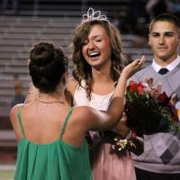 Hayley Hager crowned 2012 Homecoming Queen