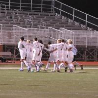 Boys soccer senior night vs Valley Center