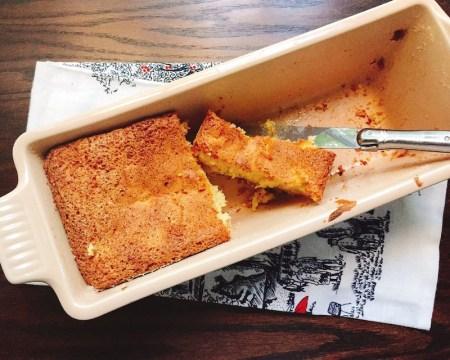 apple-rosemary cake