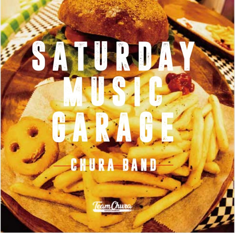 2019.05.31CHURABAND 1st ALBUM  『SATURDAY MUSIC GARAGE』release‼︎