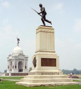 Gettysburg, First Minnesota Monument