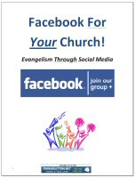 Facebook for Your Church
