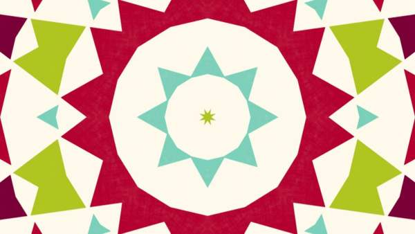 Simple Christmas: Trees Kaleidoscope 2