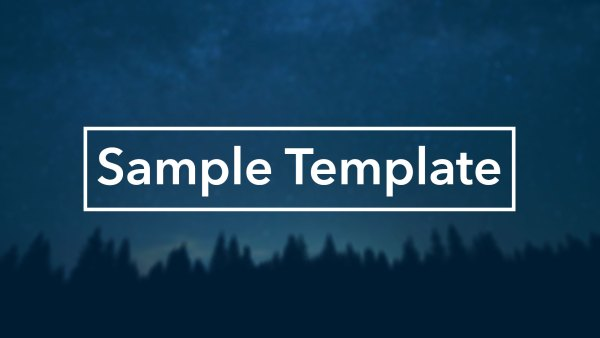 sampletemplate