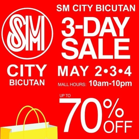 SM City Bicutan 3-Day Sale 01
