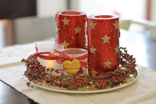 Christmas Decoration French Red18