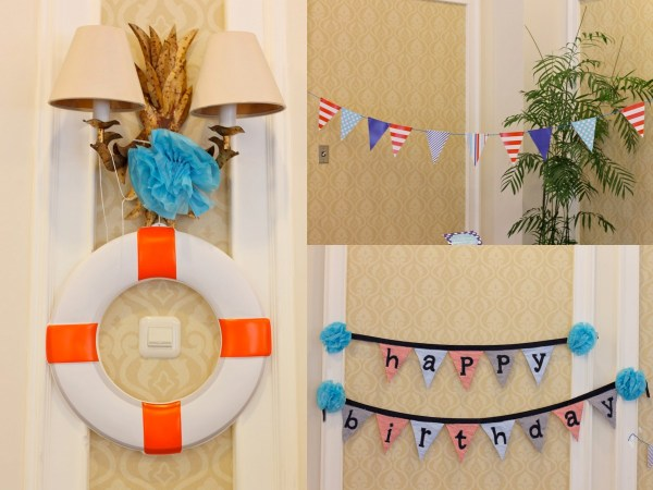 Nautical Birthday Party8