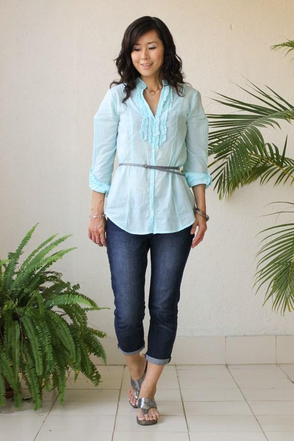 Cottonworld Blue Shirt-3