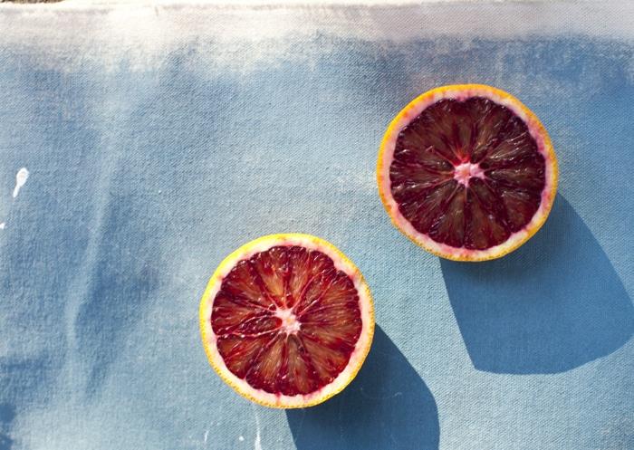 Blood Orange, Cranberry & Ricotta Muffins