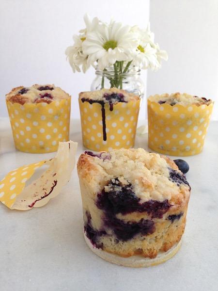 Blueberry and Ricotta Muffins Recipe