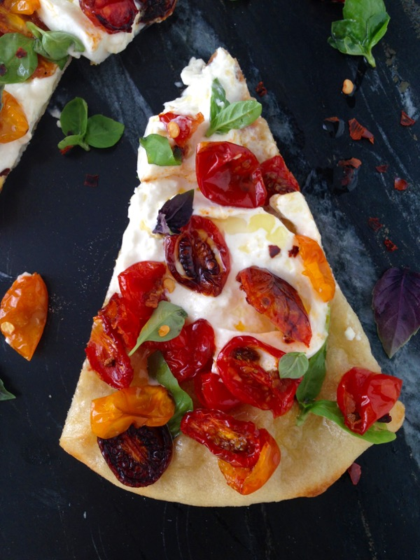 Rustic Pizza Dough Burrata Cheese