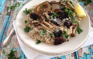 Vegan Mushroom Risotto Recipe
