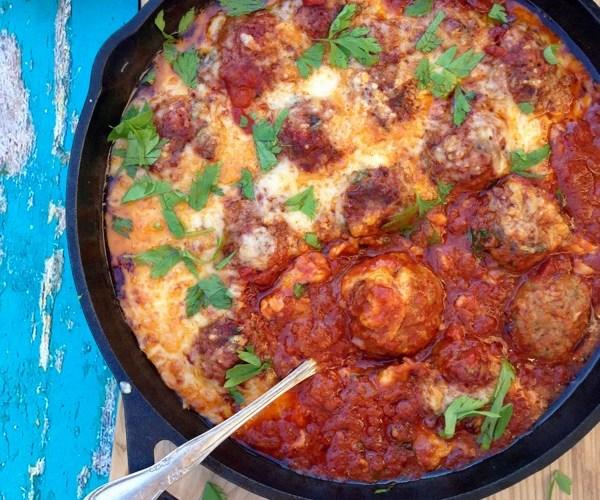 Ricotta Meatballs Recipe in Arrabiata Sauce
