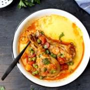 Easy Chicken Stew ( Grandma's Recipe for Chicken Stew )