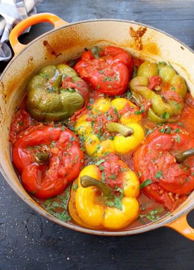 Best Vegetarian Stuffed Peppers Recipe • CiaoFlorentina