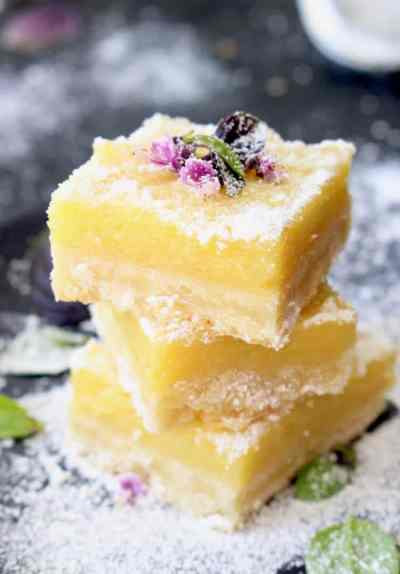 Best Lemon Bars Recipe • CiaoFlorentina