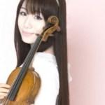 石川綾子の経歴をチェック!バイオリンがすごいと話題!!