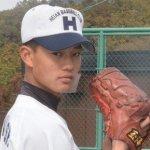 高橋奎二(けいじ)龍谷大平安のライアン投法が話題!変化球や速球は?