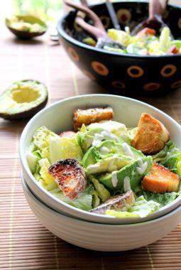 vegan caeser salad