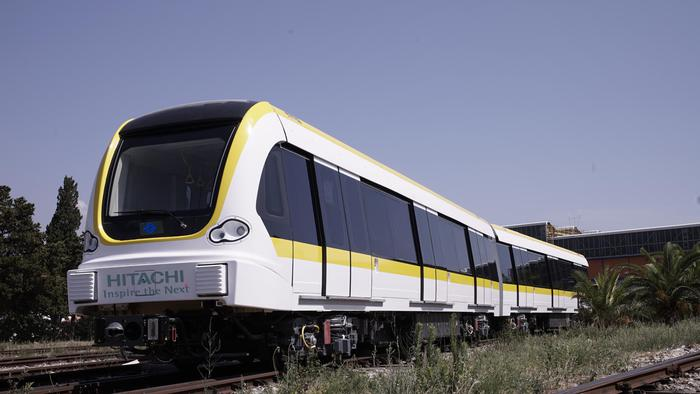 Da Reggio Calabria treni Hitachi a metro Taipei