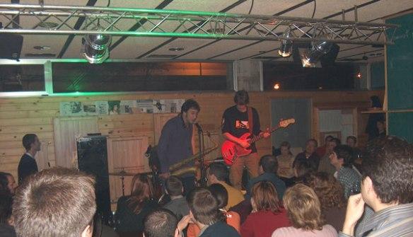 Gorka Benitez, novembre de 2004. Segon concert a La Traska.