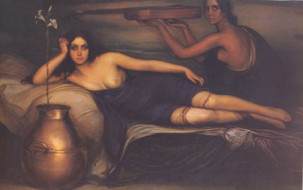 1923 Musidora por Julio Romero de Torres  Museo de Bellas Artes de Buenos Aires