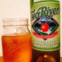 Cider Review: Two Rivers' Gravenstein Hard Apple Cider