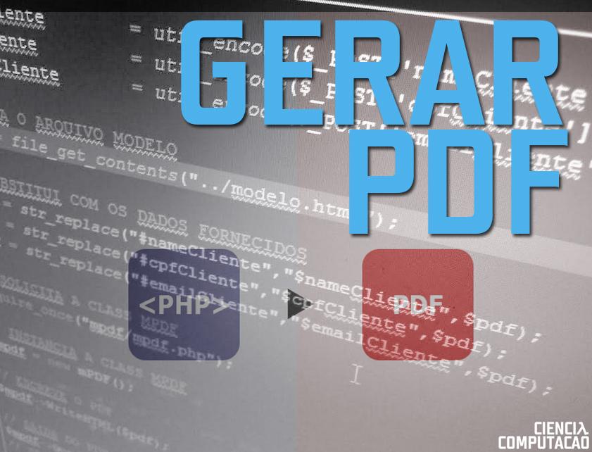 Gerar PDF com mPDF através de formulário
